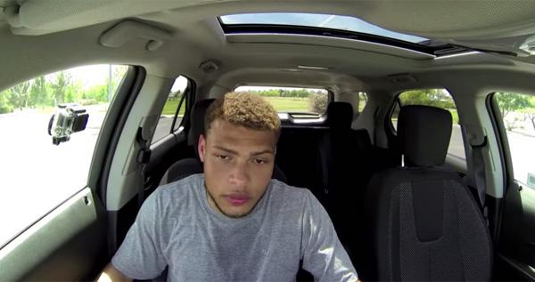 真夏のペット車中置き去りはこんなに危険!現役アメフト選手の検証動画が衝撃すぎる