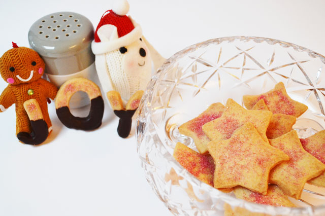 Christmas recipe: Star biscuits