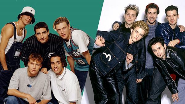 backstreet boys nsync, biggest boys bands, backstreet boys nsync perform together