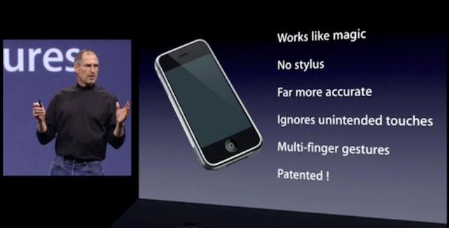 Bild zu «Wann Steve Jobs und Apple Patente ernst zu nehmen begannen»