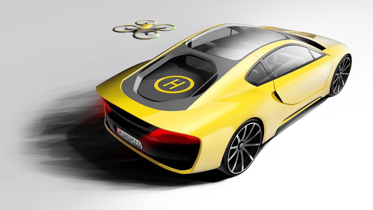 Rinspeed's latest concept is a self-driving sports car