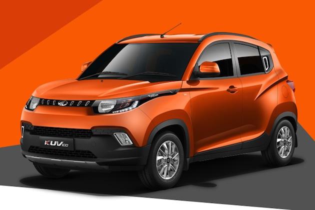 インドのマヒンドラが、'クールな'小型SUV「KUV100」を発表