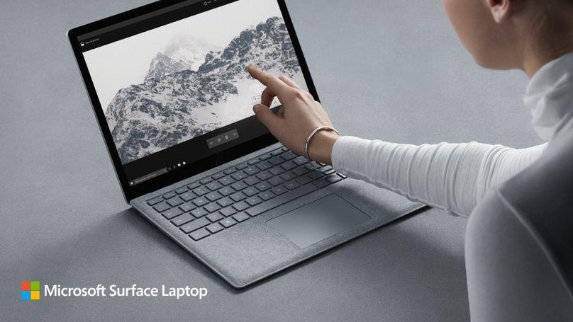 Surface Laptop es el primer portátil de Microsoft