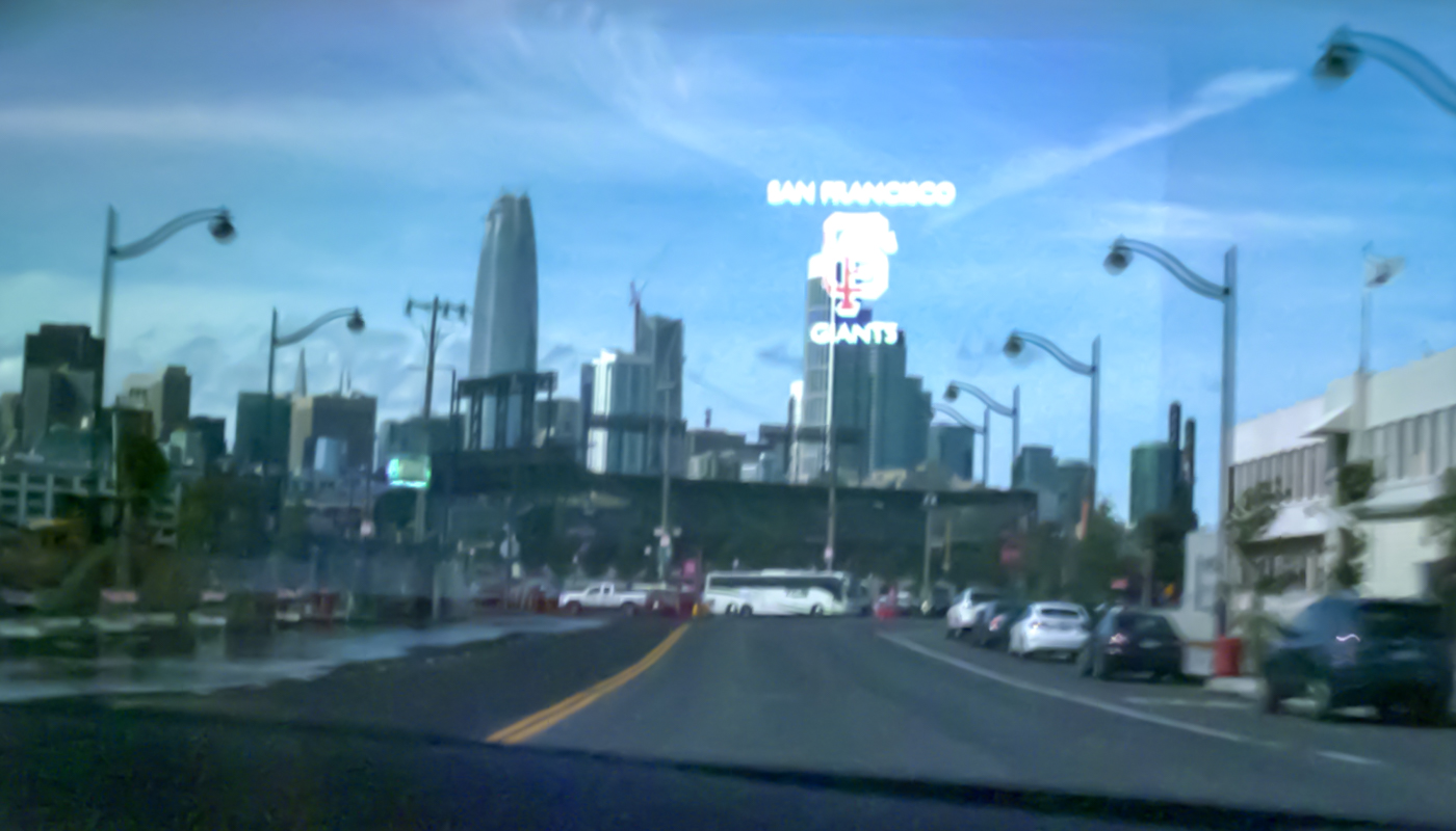 Driving with AR glasses may be information overload