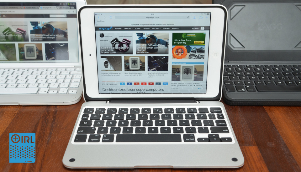 How a keyboard case can turn your 8-inch tablet into a productivity machine