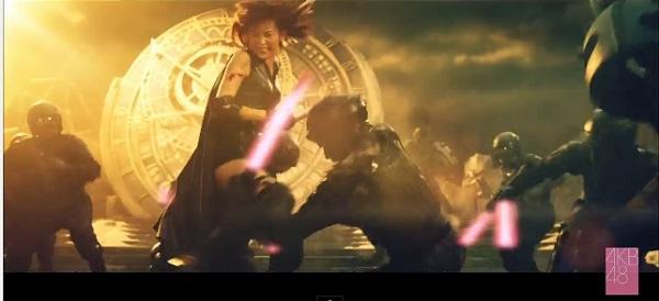 AKB48「僕たちは戦わない」MVが映画『るろ剣』大友・谷垣組アクション炸裂でカッコよすぎる