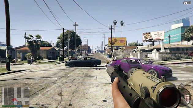 GTA V llegará ofrecerá cámara en primera persona en PS4, Xbox One y PC