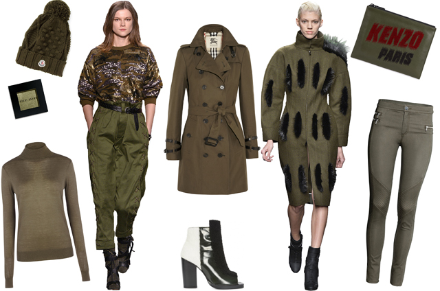 Khaki Green How To Wear The Colour That Goes With Everything
