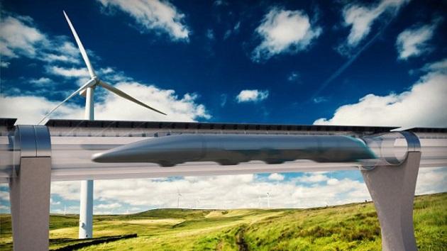ハイパーループ・トランスポーテーション・テクノロジーズ社、123億円以上の資金を調達したと発表