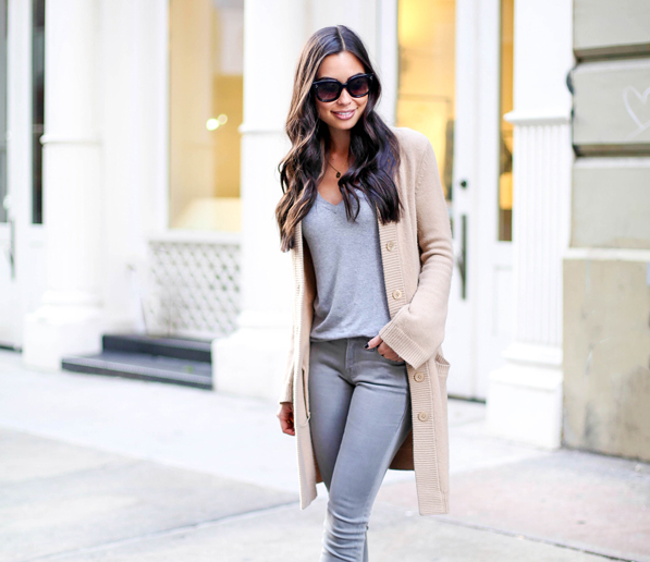 Yesterday's tip: A slouchy cardigan