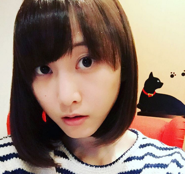 元SKE48松井玲奈が長い髪をバッサリカット、ボブにイメチェン 「女神」「美しすぎる!」