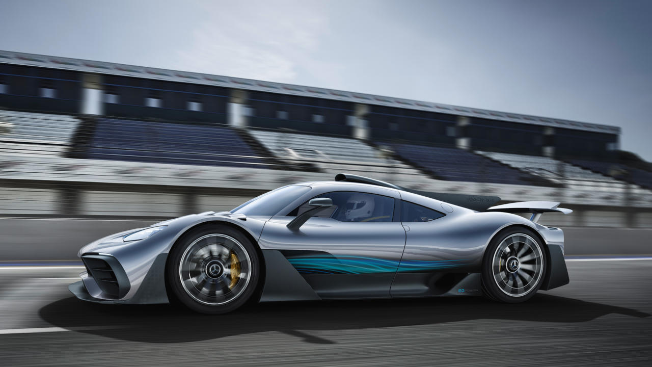 0 auf 200 in unter 6 Sekunden: Mercedes-AMG Project ONE