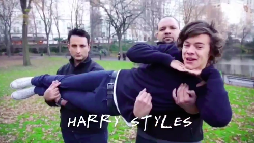 one direction friends opening credits video