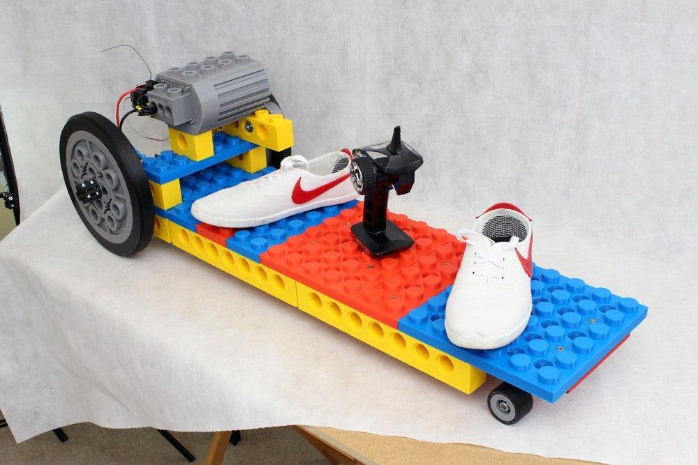 Lego-Skateboard: XXL-Steine kommen aus dem 3D-Drucker