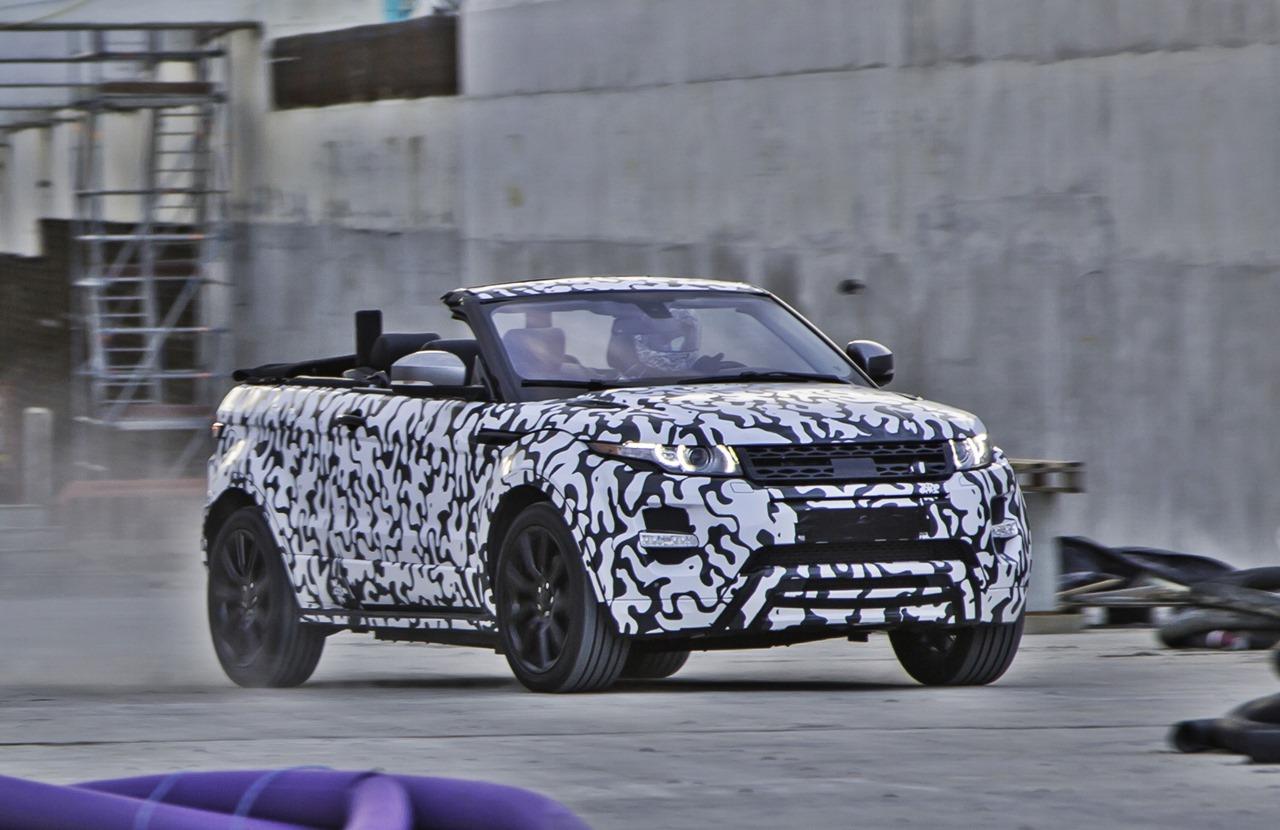 Offiziell: Das Range Rover Evoque Cabrio kommt 2016