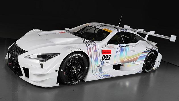レクサス、来季よりSUPER GTの参戦車両を「RC F」から「LC500」に変更