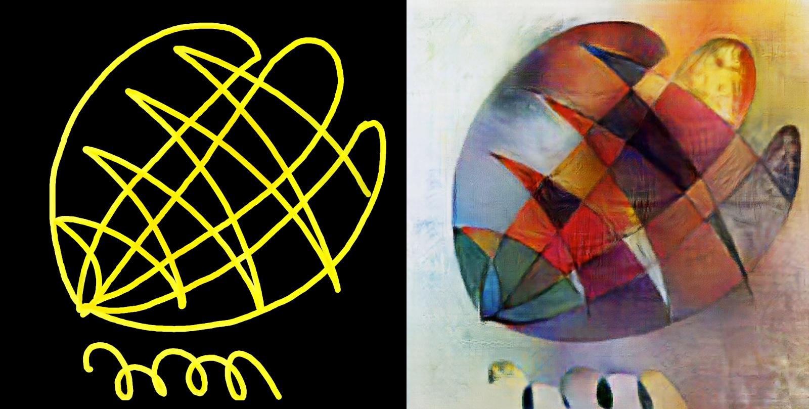 Picasso, Van Gogh und Co: AI macht aus Strich-Skizzen alte Meister
