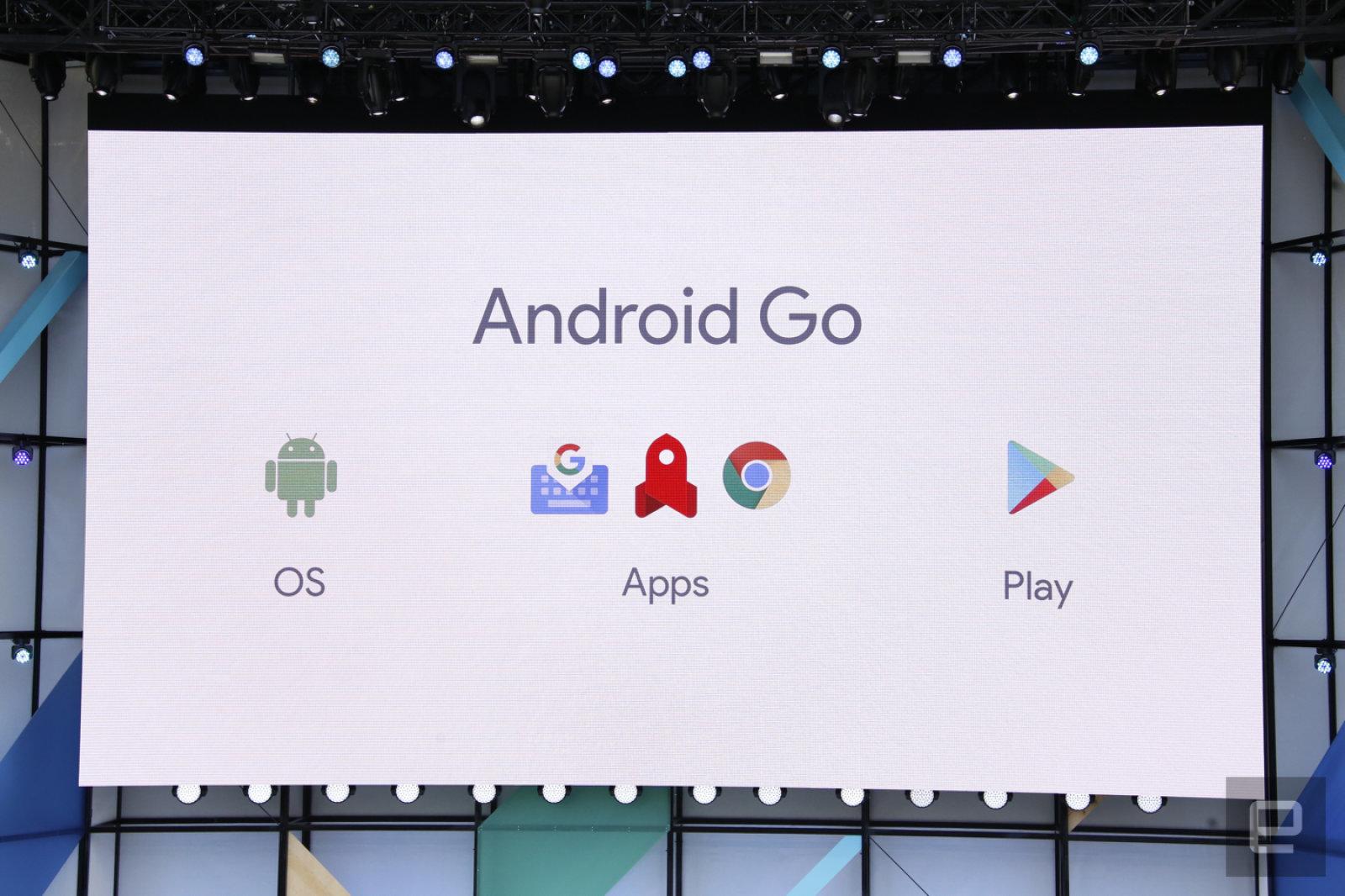 Android Go es la versión súper optimizada de Android que dará vida a móviles más baratos