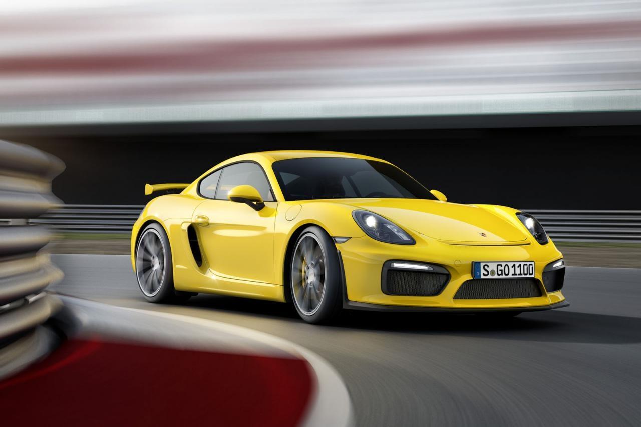 Premiere für Porsche Cayman GT4