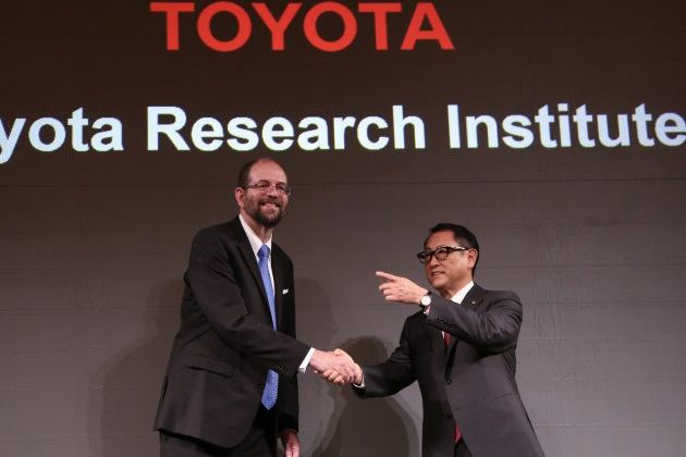トヨタ、人工知能とロボットの研究所を米国に設立し1,200億円超を投資