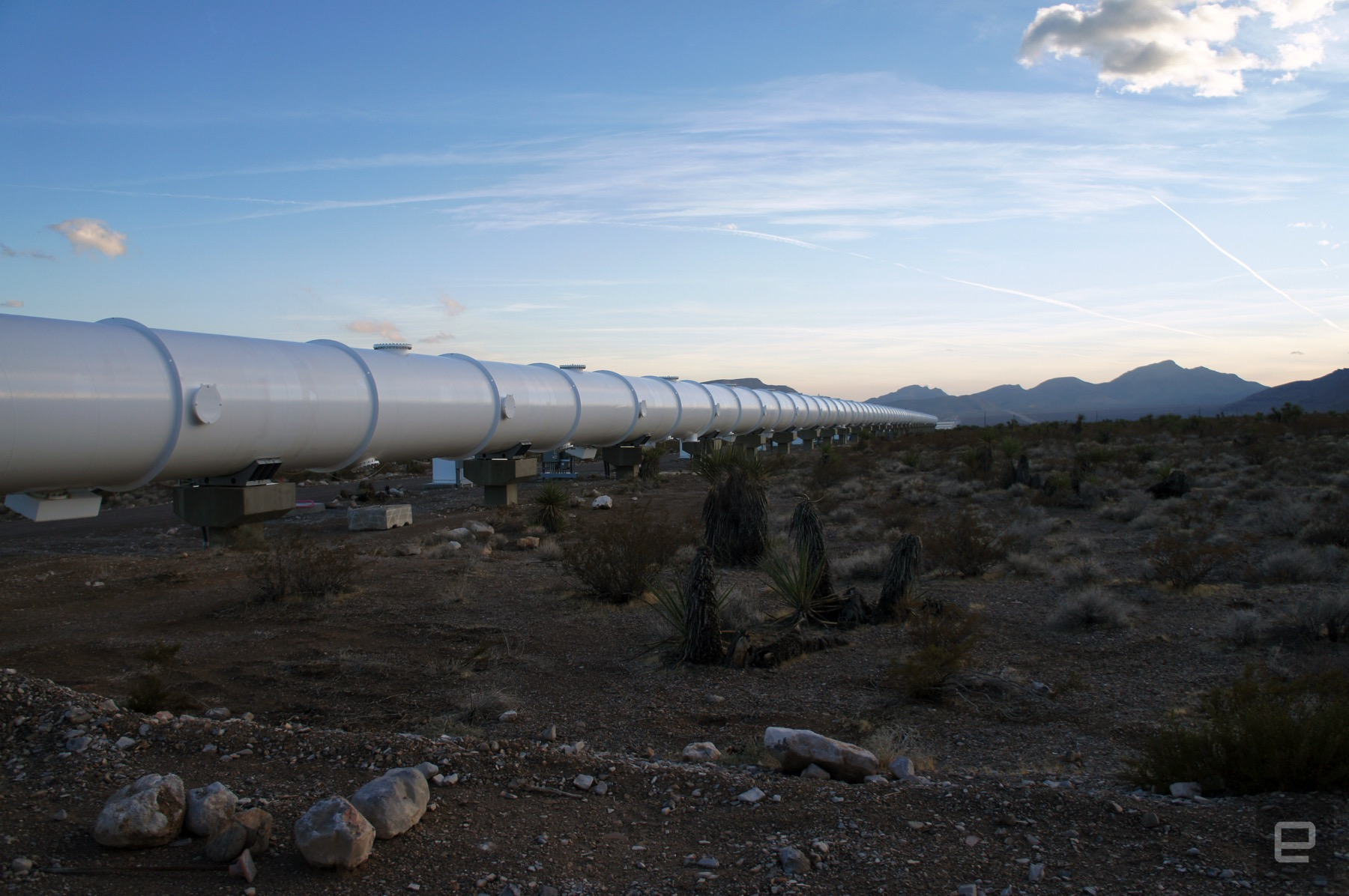 photo image Touring Hyperloop One's ever-evolving test site