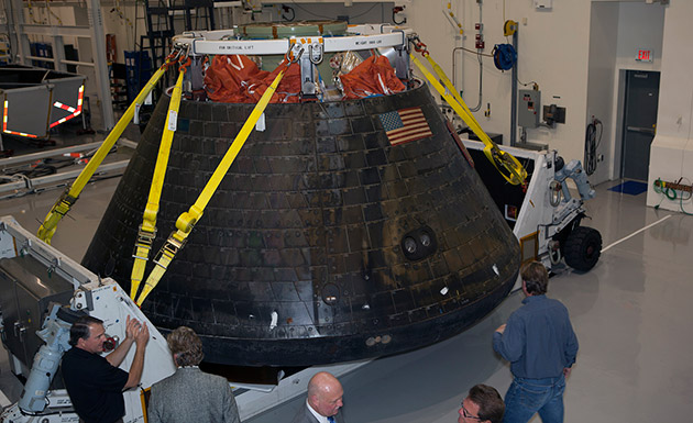 Here's what astronauts aboard Orion will see during re-entry