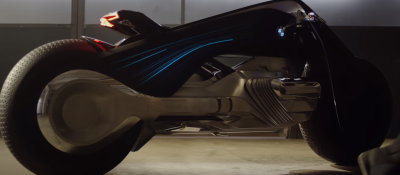 ヘルメットの必要なし! BMWのコンセプトバイクがかなりカッコいい!