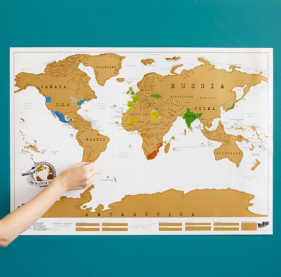 scratch map uncommon goods