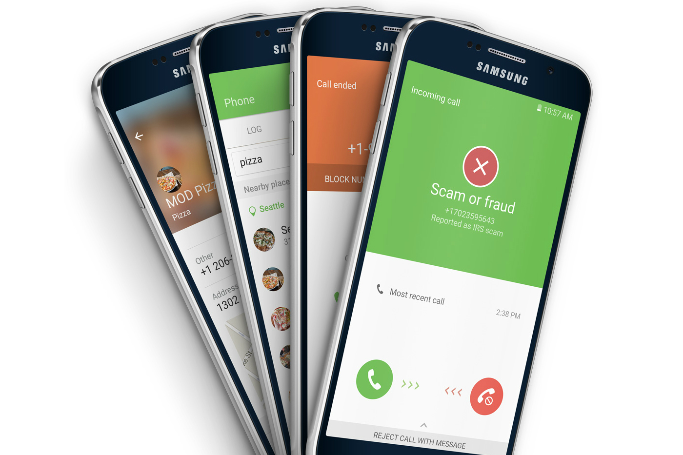 Samsung's Galaxy S7 automatically flags nuisance callers