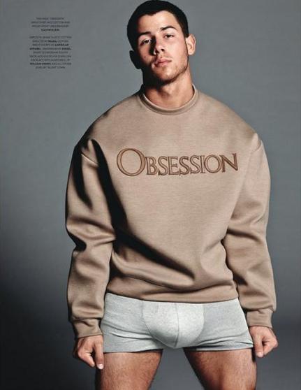 nick jonas calvin klein underwear flaunt magazine