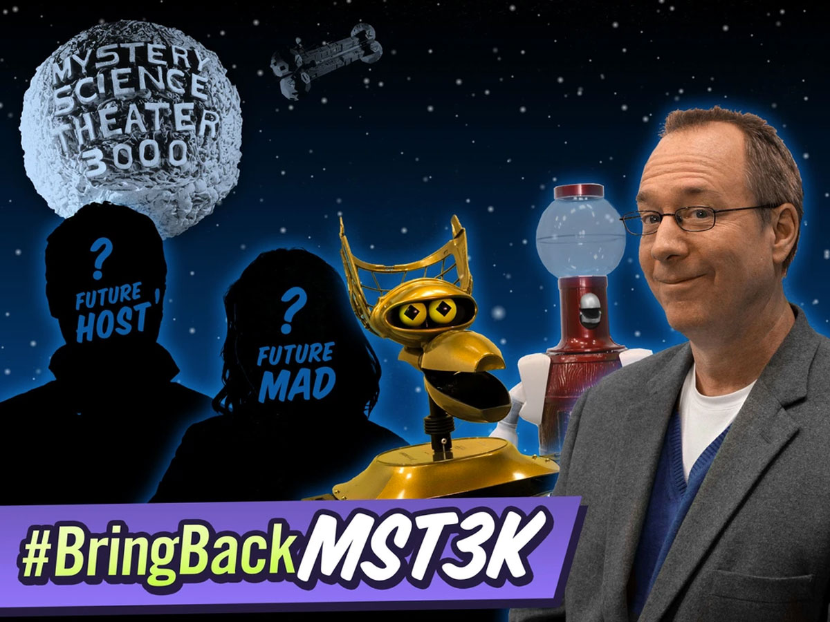'MST3k' needs Kickstarter cash to make its comeback
