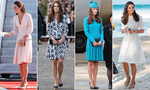 All the stunning looks of Kate's tour down under