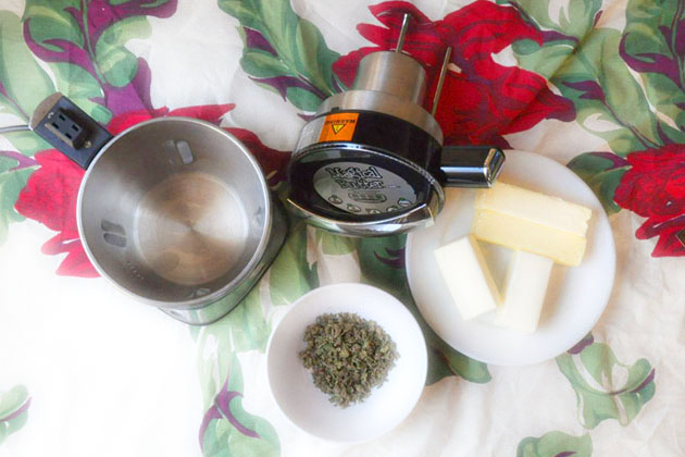 We made weed butter with a 'magical' machine