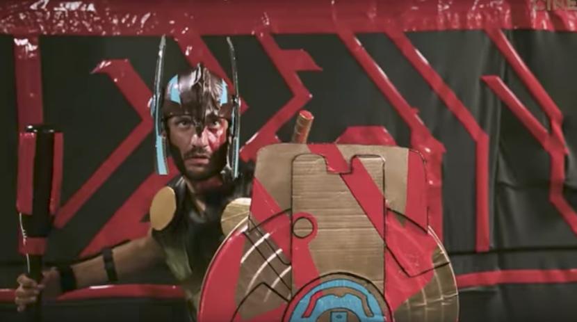 DIY-Homemade-Trailer: Thor – Ragnarok