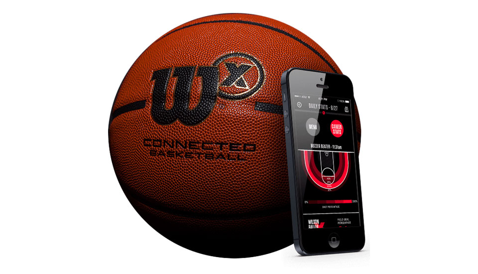 Wilson's connected basketball helps hone your skills on the court