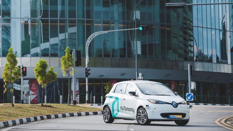 新興企業nuTonomyが世界で初めて自動運転タクシーの公道走行試験を開始