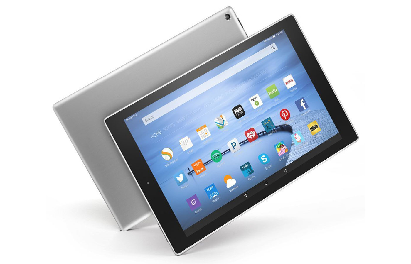 Amazon gives its Fire HD 10 tablet a classier metal shell