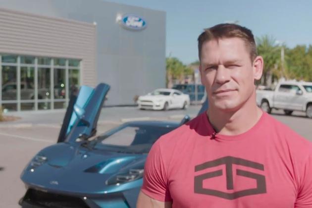 納車から1ヶ月で「フォードGT」を転売したプロレスラーのジョン・シナ、フォードから契約違反で訴えられる