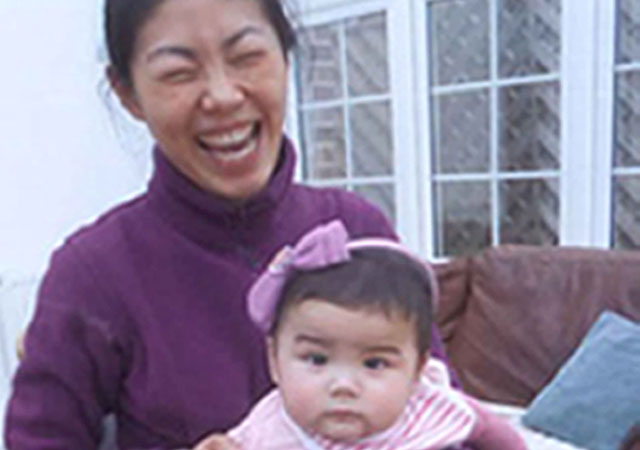 Missing mum Ali Zhao and her daughter Kiki