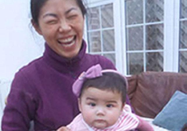 Missing mum Ali Zhao and her daughter Kiki