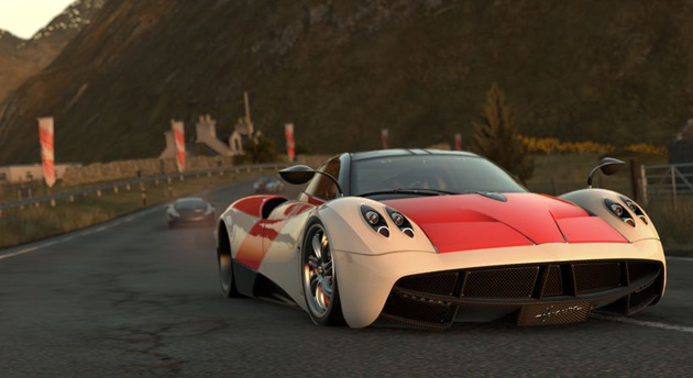 Pagani Huayra in Driveclub for the PS4