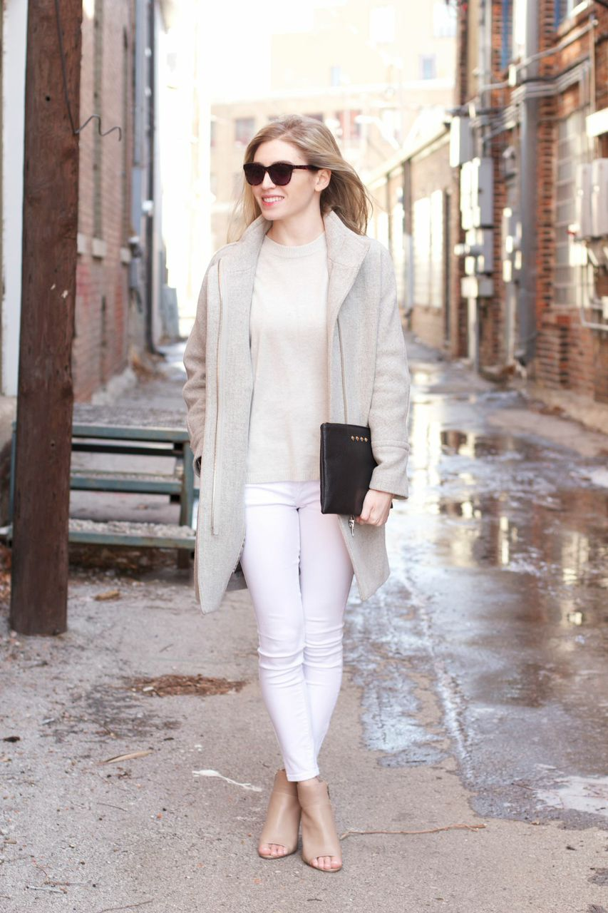Street style tip of the day: Winter neutrals