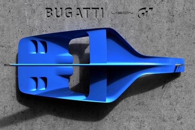 ブガッティ、『ビジョン グランツーリスモ』用マシンの一部を公開