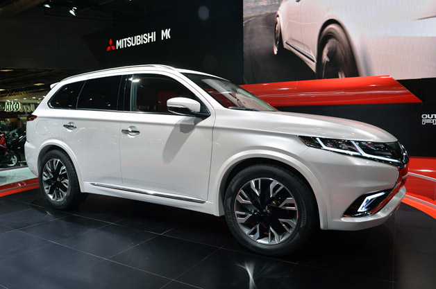 Mitsubishi Outlander Phev Concept S Shows What A Facelift | 2016 Car ...