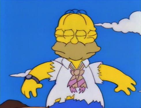 funny simpsons screenshots, hilarious simpsons freeze frames, homer simpson