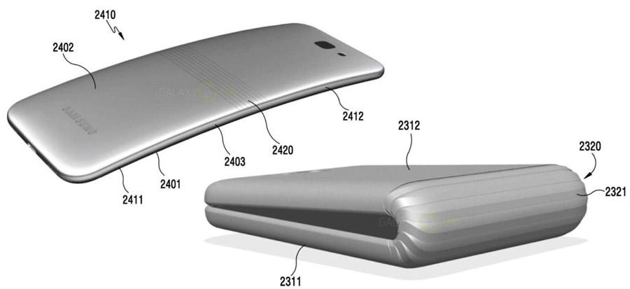 Galaxy X: Faltbares Smartphone scheint auf dem besten Weg