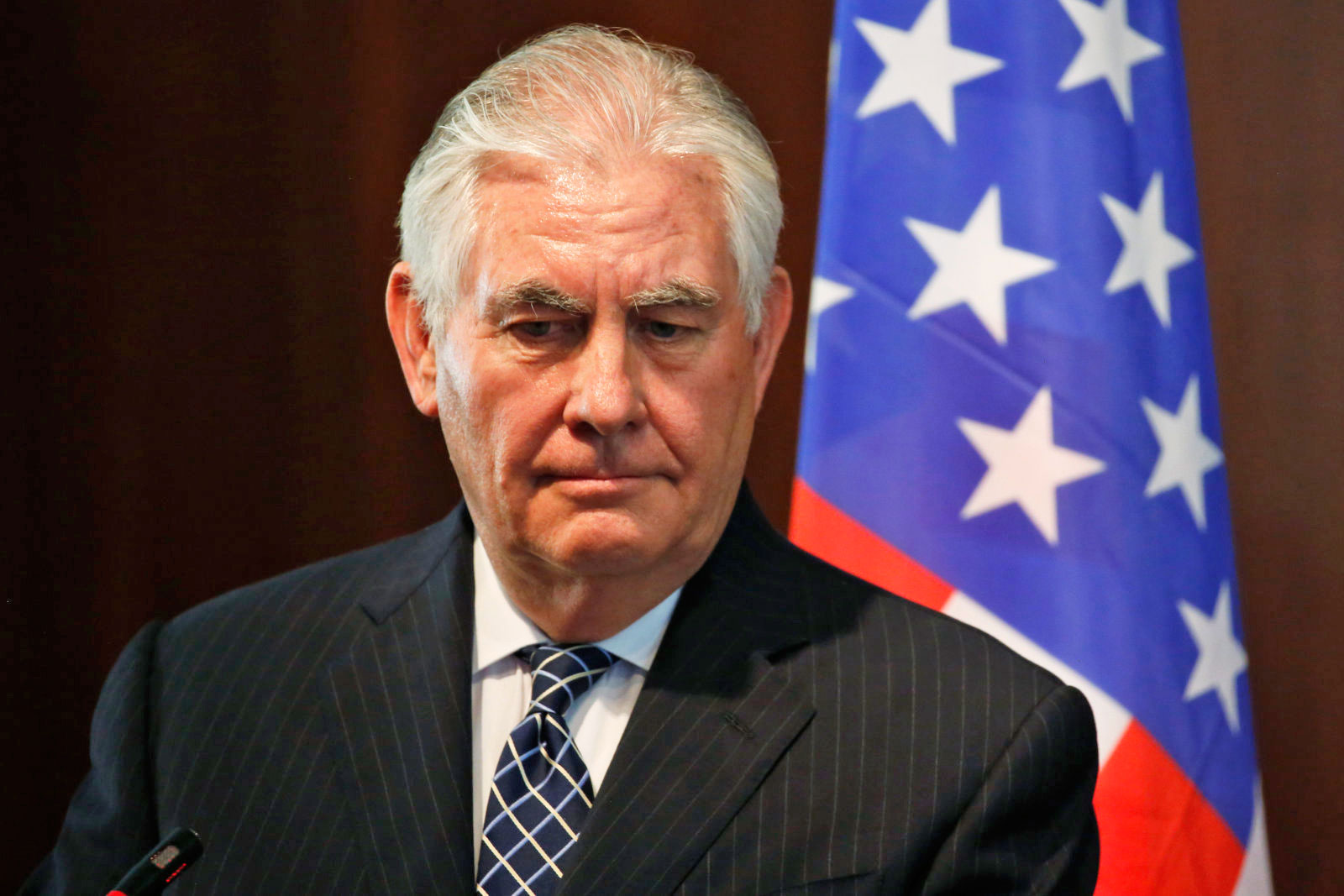 photo image Rex Tillerson gets his bad news just like we do: on Twitter