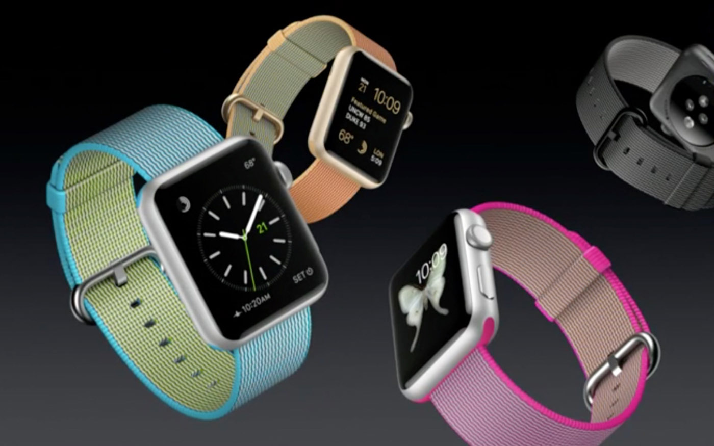 Apple unveils four-layer woven nylon Watch bands