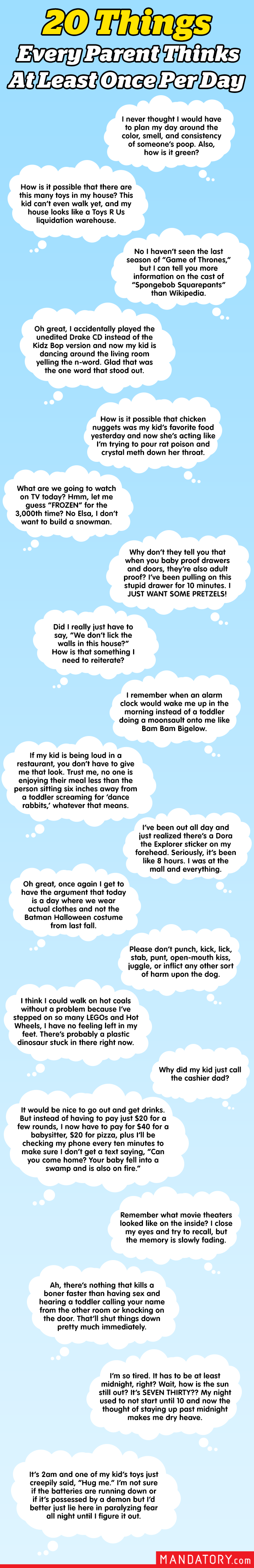 Parents Thoughts About Kids, What Parents Think