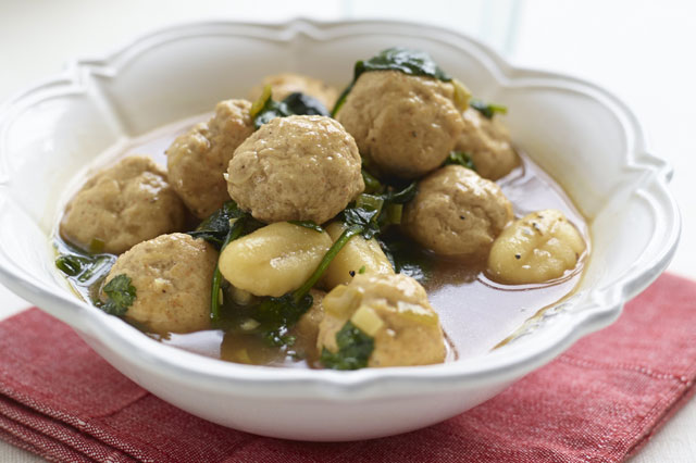 Turkey meatball recipe from Phil Vickery